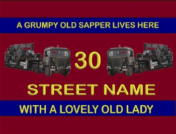 Scammell House Signs